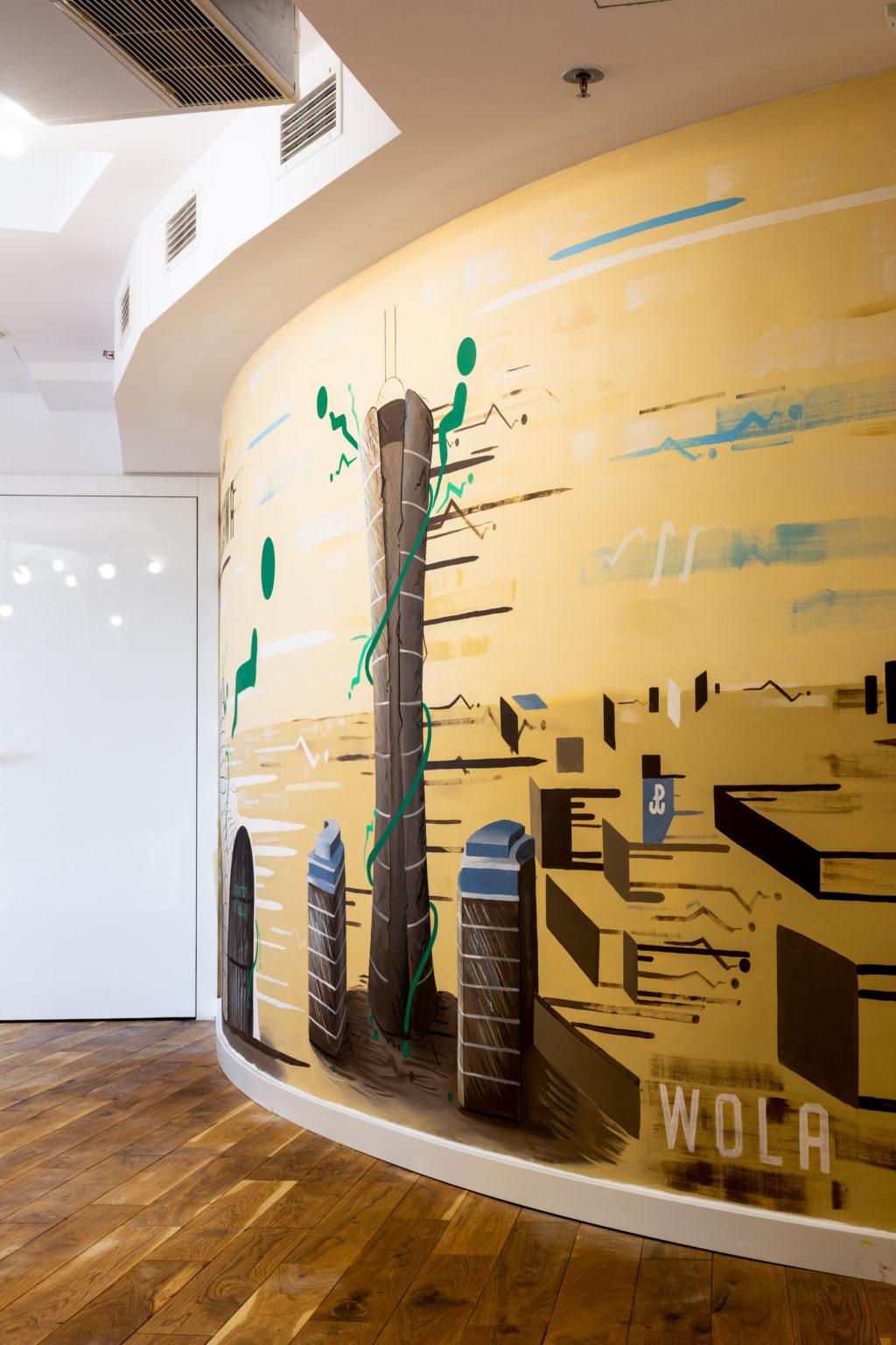 Bar a boo projekt namalowany przez Cezarego Sójkę