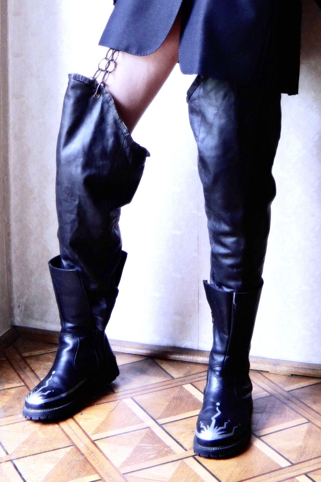 Diamond Breaker projekt custom butów dla Is on me