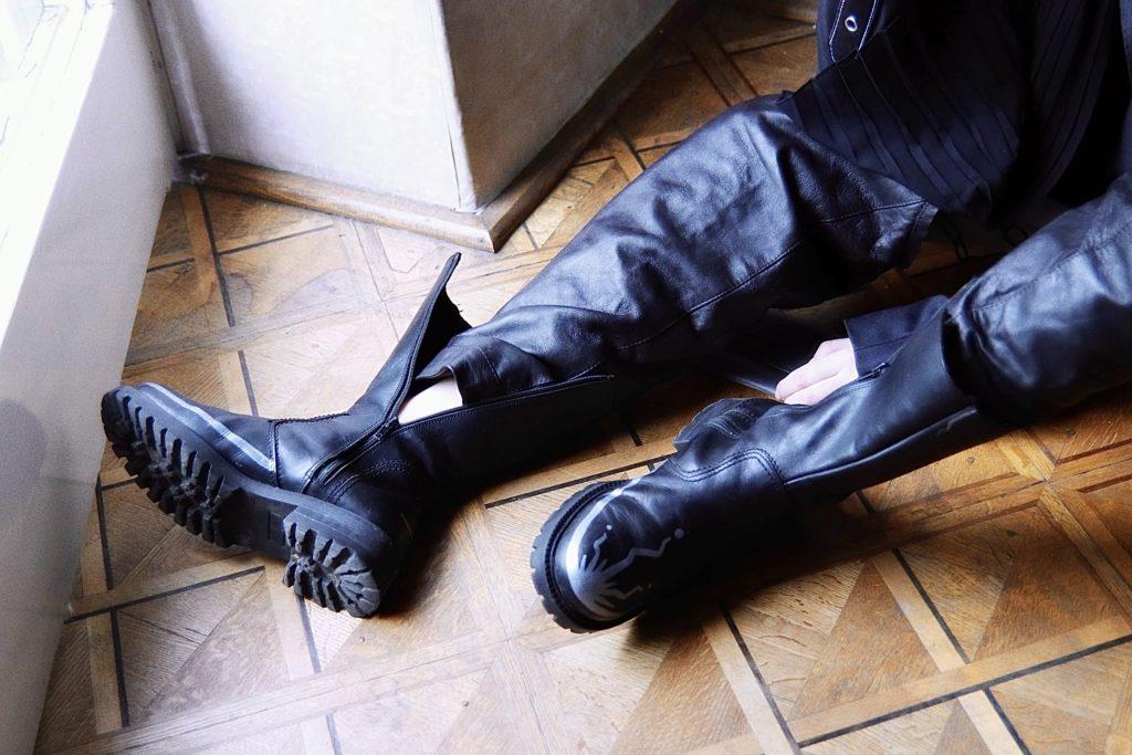 Projekt butów